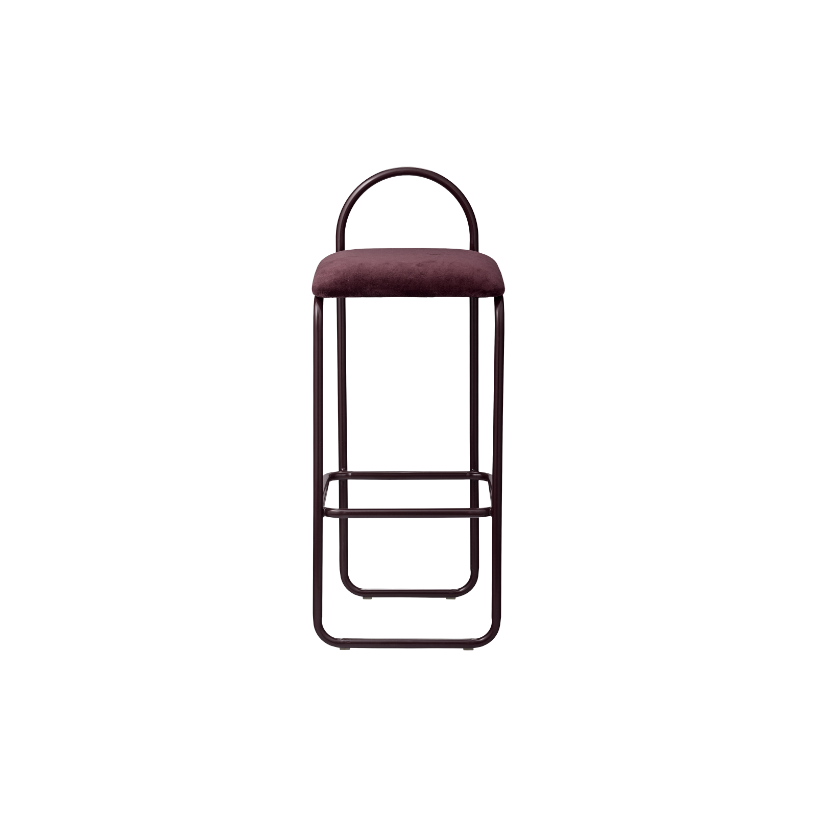 ANGUI bar chair high bordeaux, AYTM