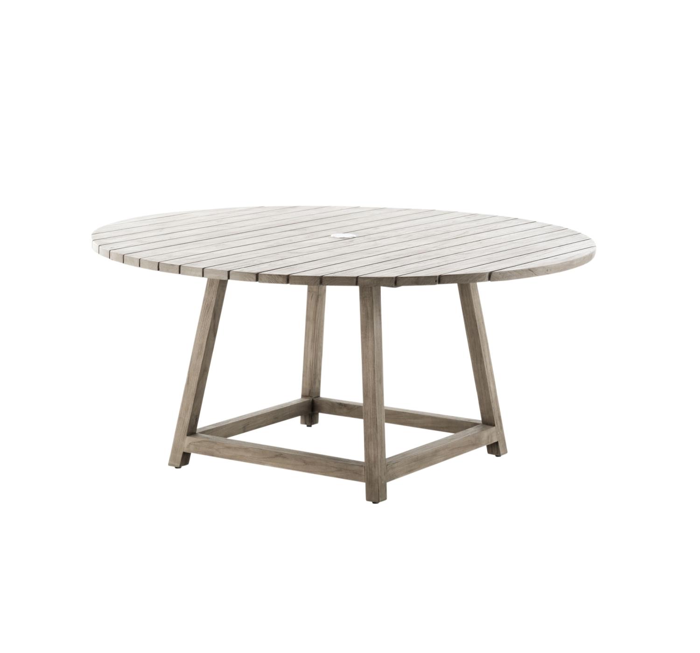 Runt teakbord  160 cm George, Sika-Design