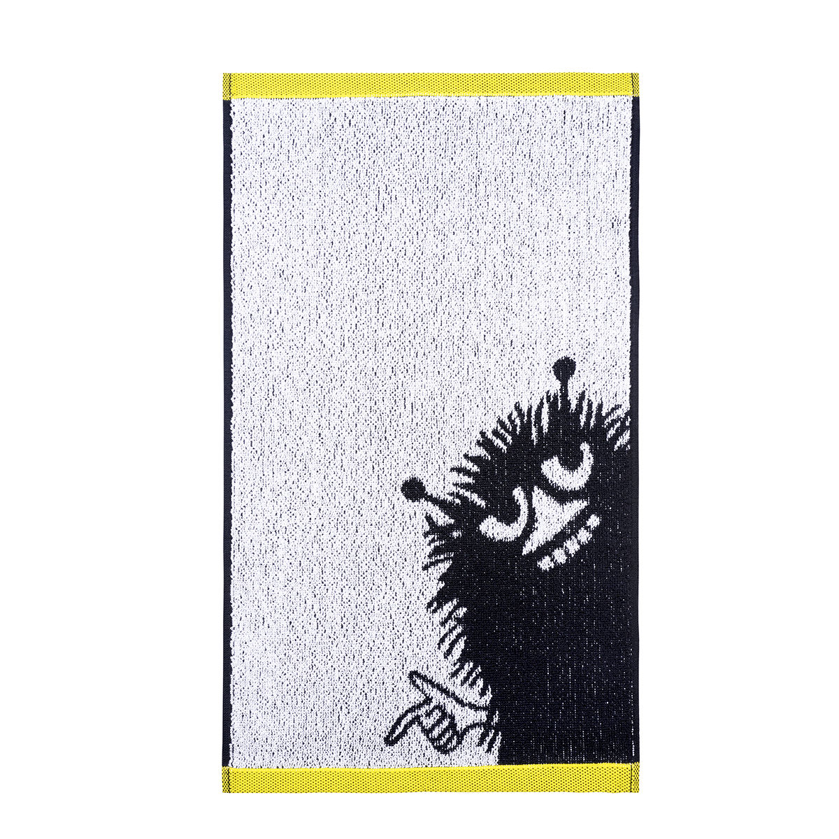 Stinky handduk svart/vit/gul, Finlayson