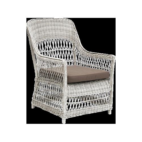 Fåtölj Dawn lounge chair Vintage white, Sika-design