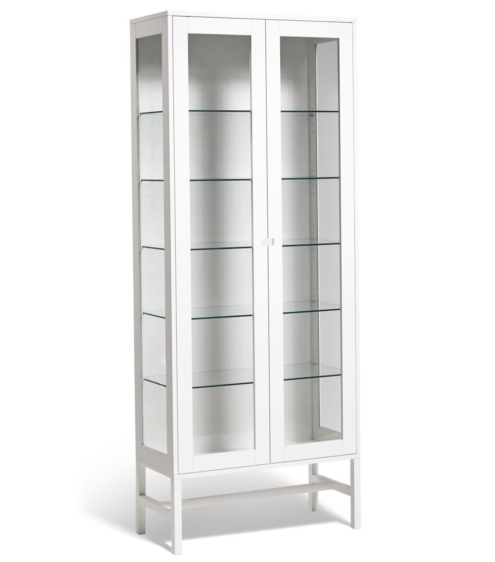 Falsterbo vitrinskåp glas 200 cm, Mavis
