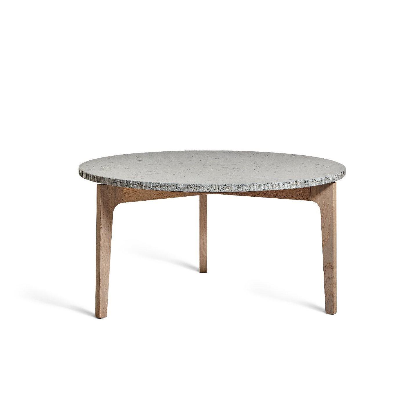 Höllviken soffbord ek/ kalksten, Mavis