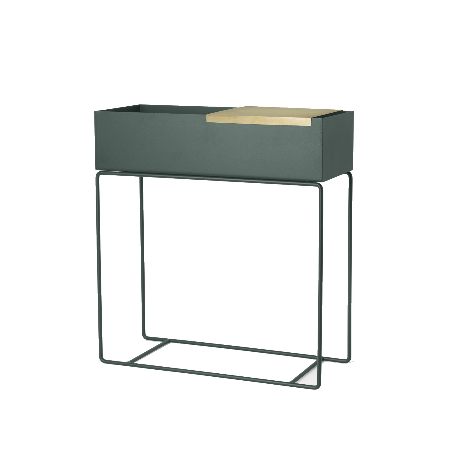 Plant Box  Dark Green, Ferm Living