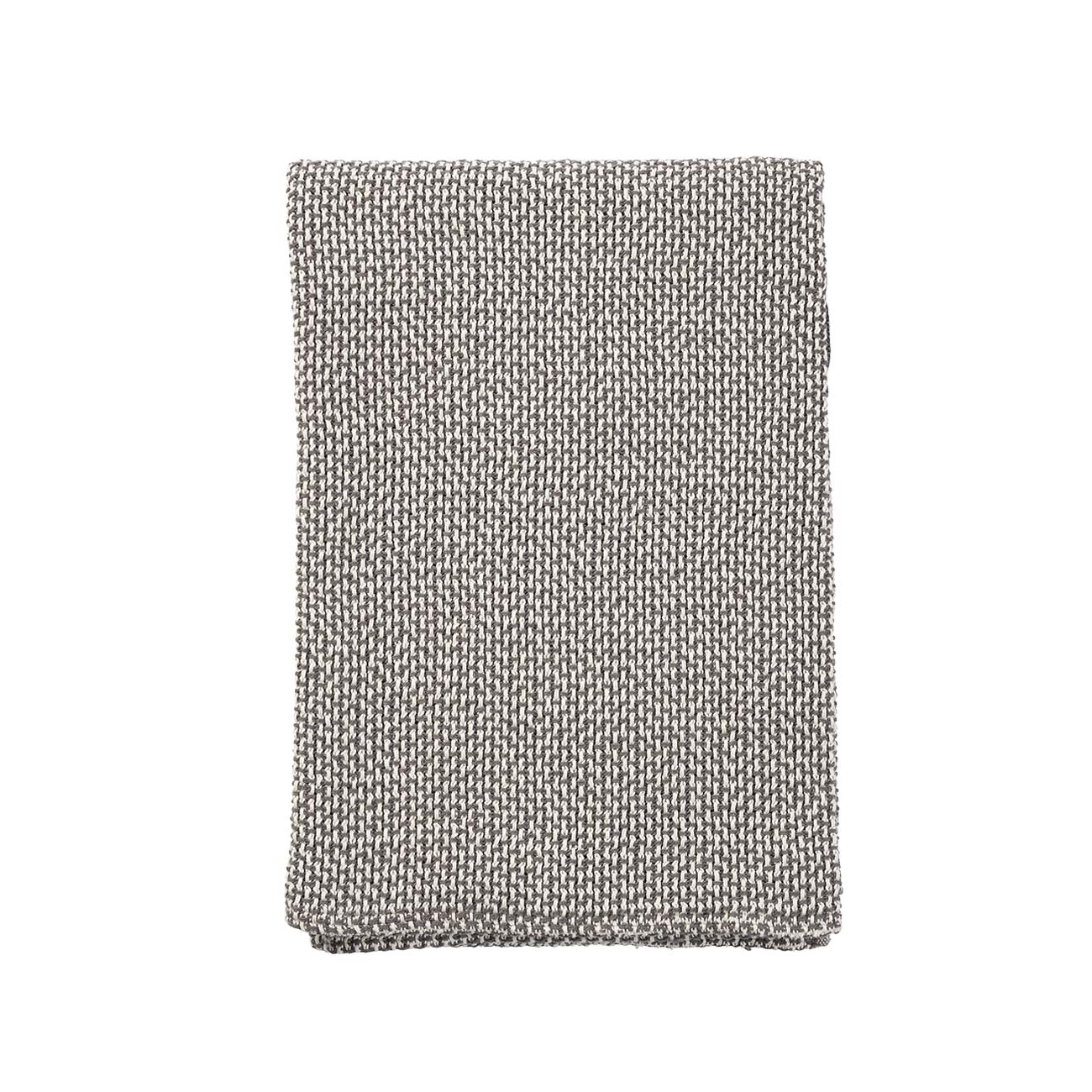 BASKET grå bomullsfilt, Klippan Yllefabrik