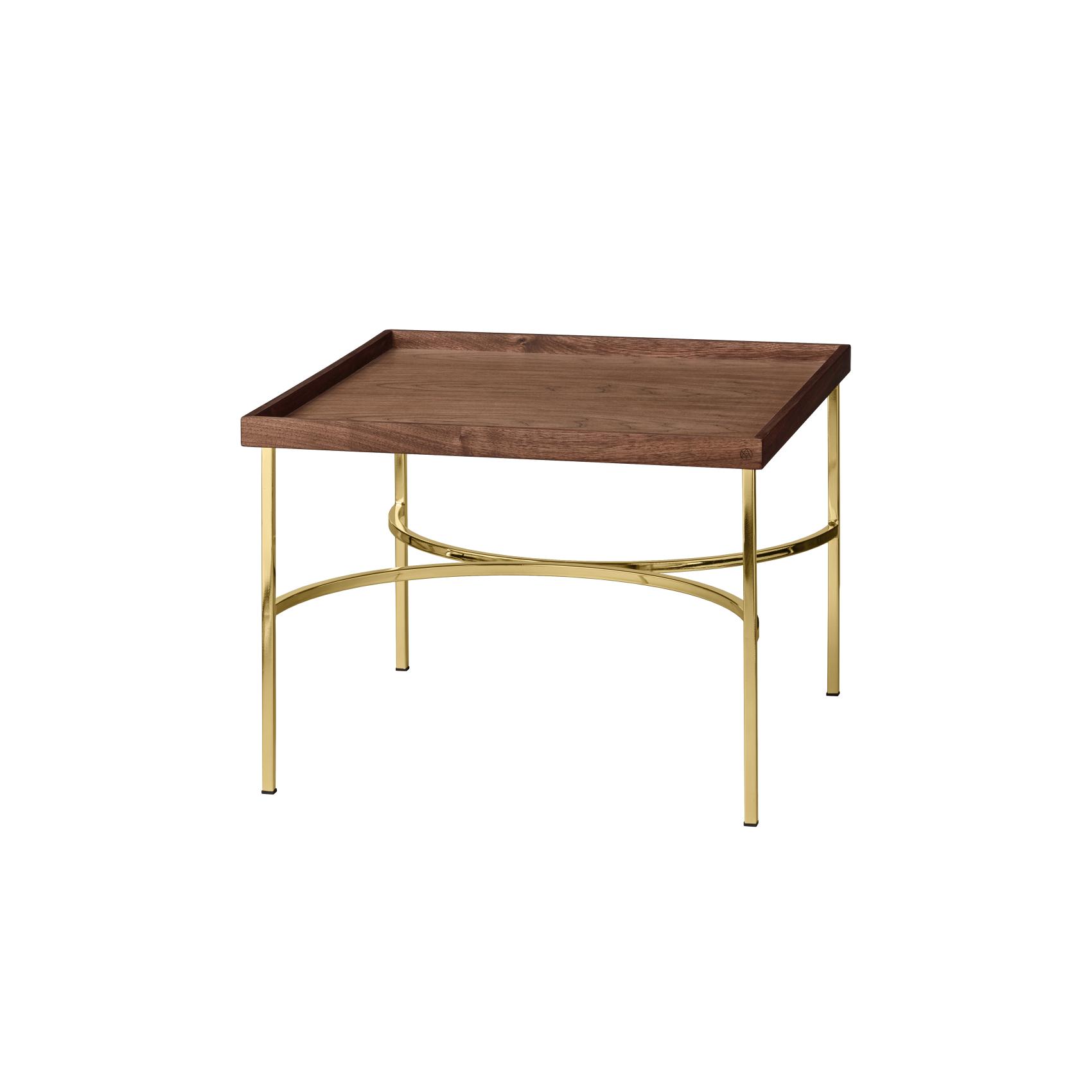 Bord UNITY table valnöt/ guld, AYTM