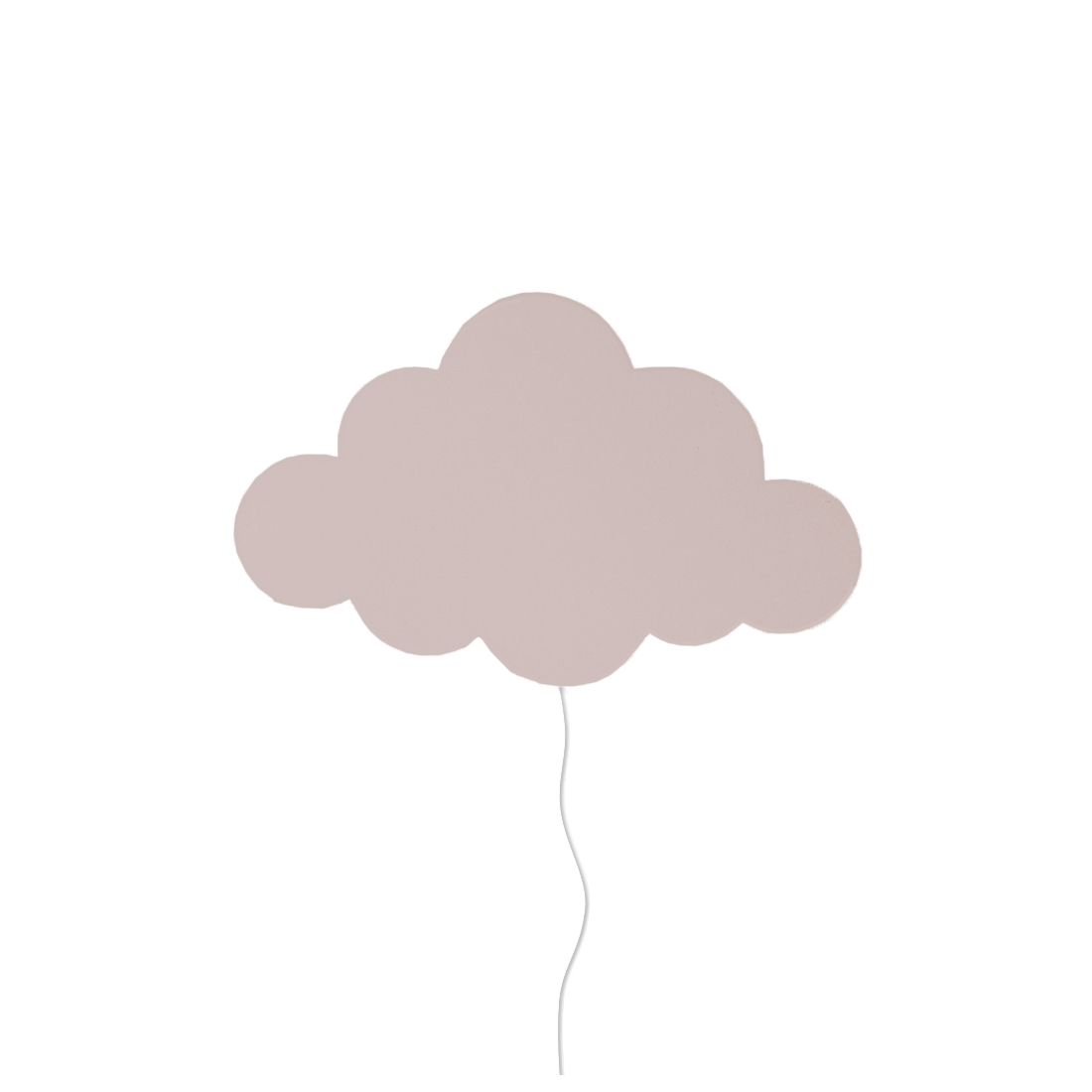 Barnlampa Cloud Dusty rose, Ferm living