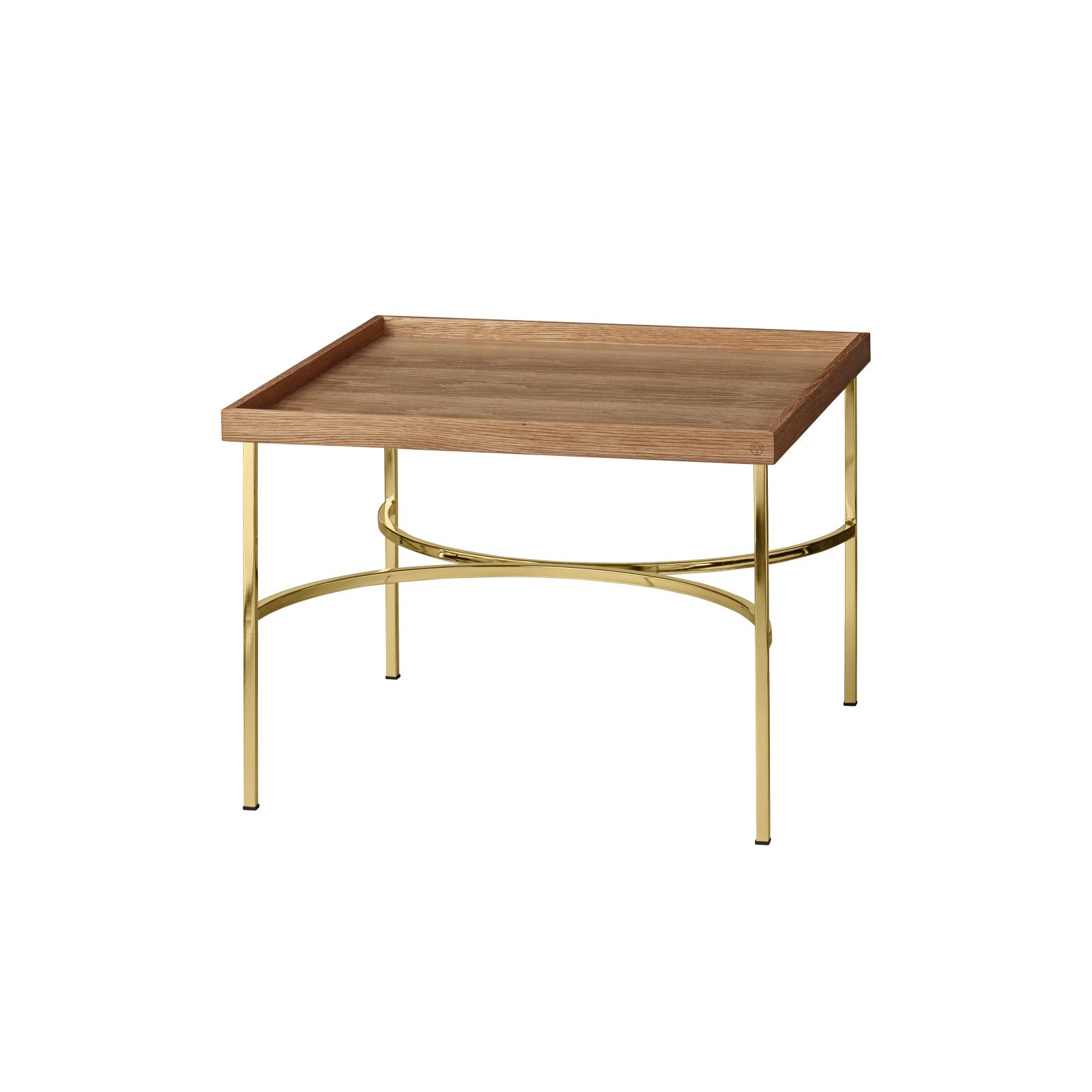 Bord UNITY table ek/ guld, AYTM