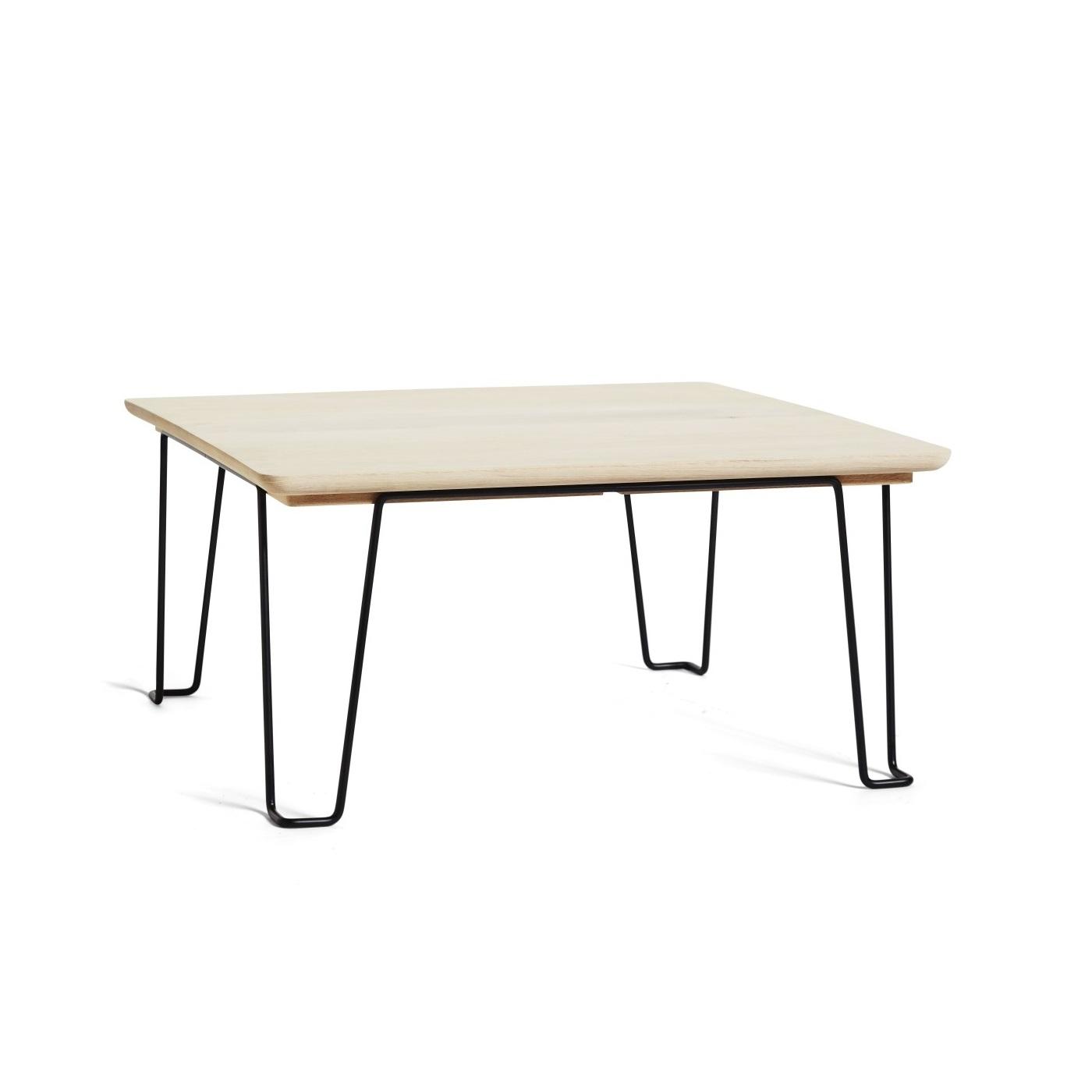 GAUCHO soffbord såpad ek / svart, Mavis