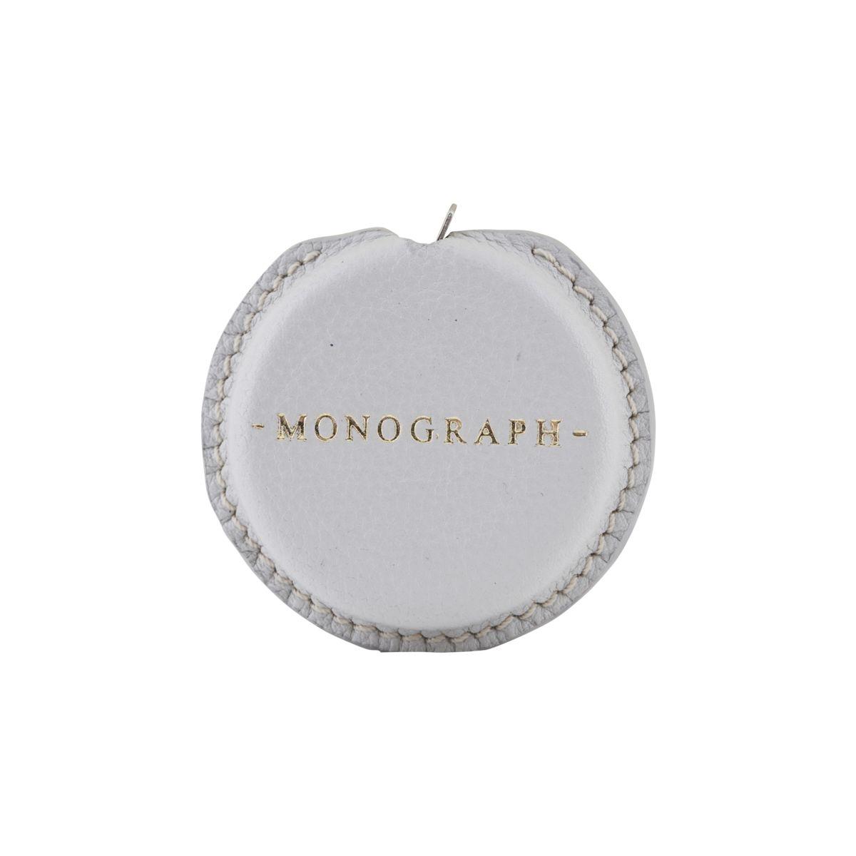 Måttband MONOGRAPH läder grey, House Doctor