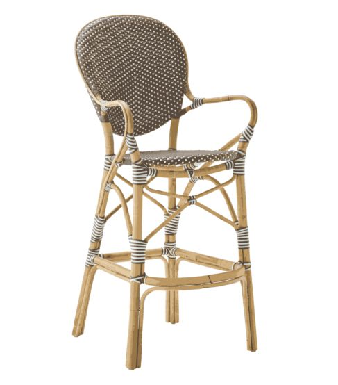 Isabell barstol karm cappuccino, Sika-design