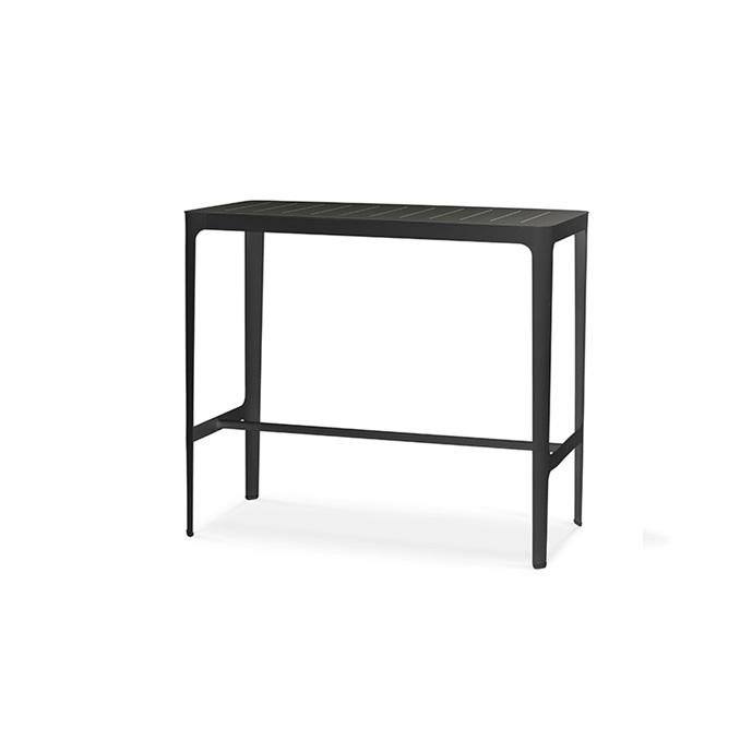 Cut barbord metall svart, Cane-line