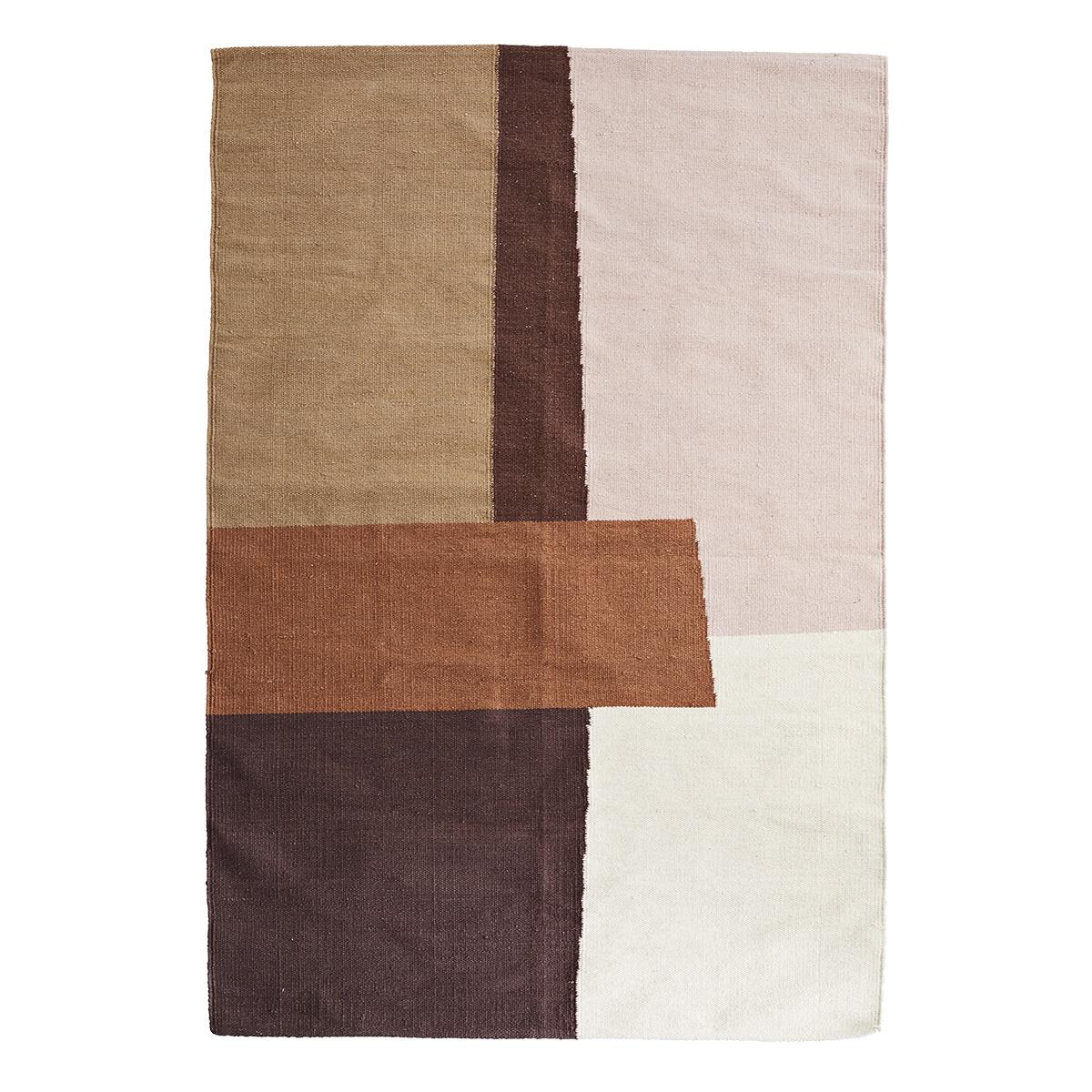 Handvävd matta 120 x 180 cm, Madam Stoltz