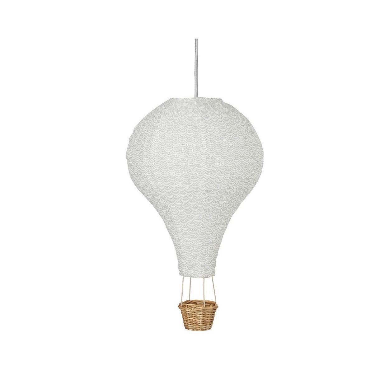Luftballong barnlampa Wave grå,  CamCam Copenhagen