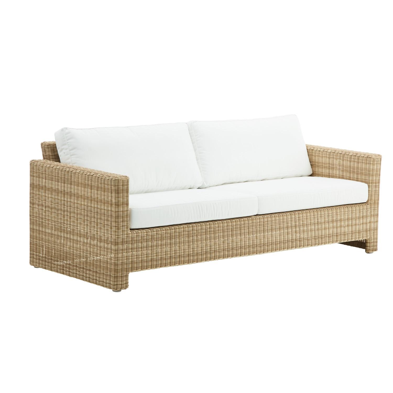 3-sits soffa Sixty konstrotting natur, Sika-Design