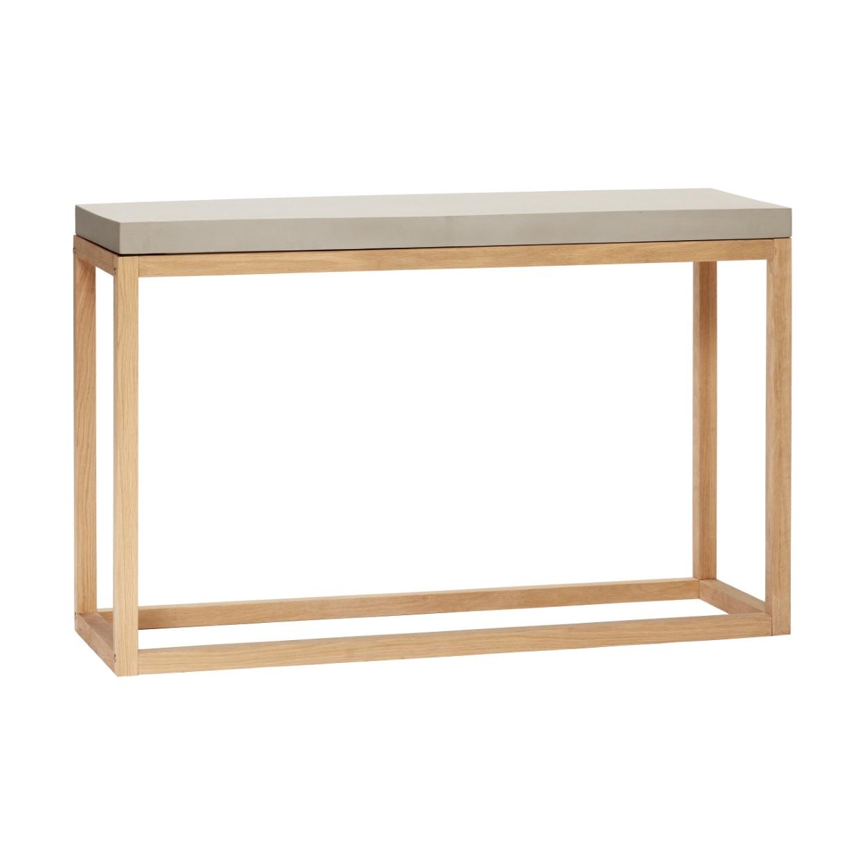Avlastningsbord betongtopp/ natur, Hubsch