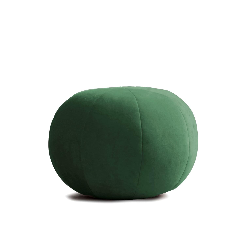 Sittpuff sammet POUF MAJULI grön, ByON