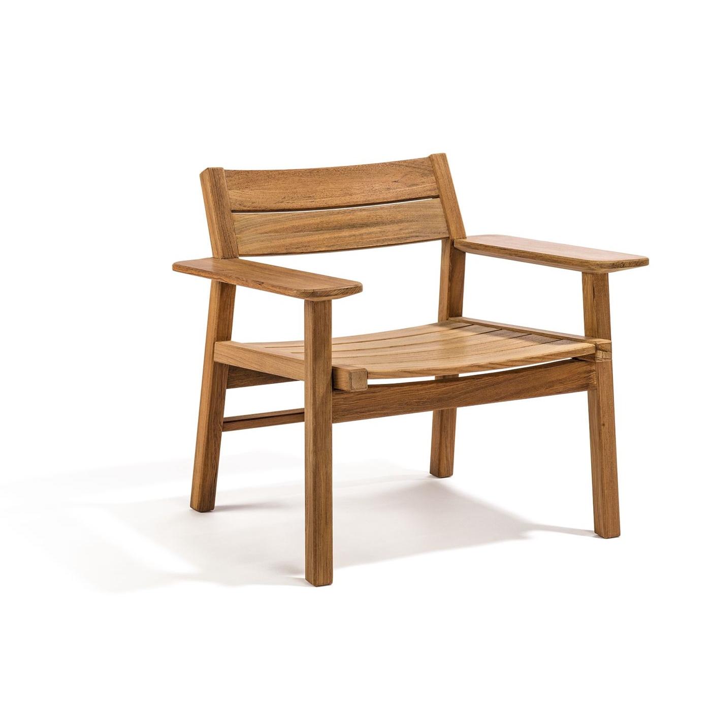 Djurö Lounge chair teak, Skargaarden
