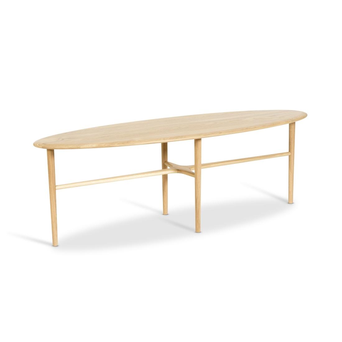 CREST avlångt bord ljus ek, Mavis