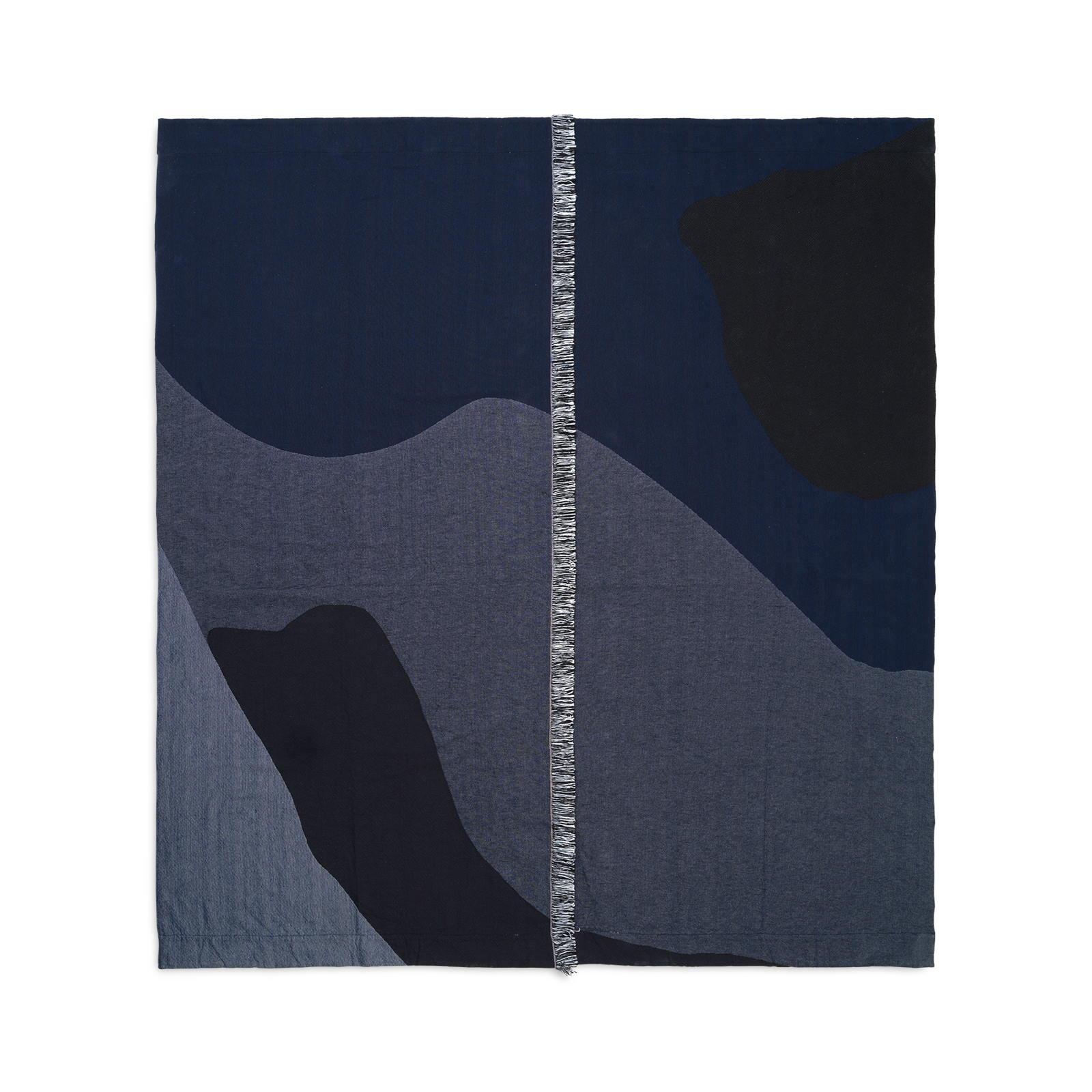 Överkast Vista Bedspread  mörkblå Ferm Living