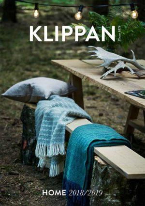 Klippan pläd HOME Katalog 2018/ 2019, Klippan Yllefabrik thumbnail