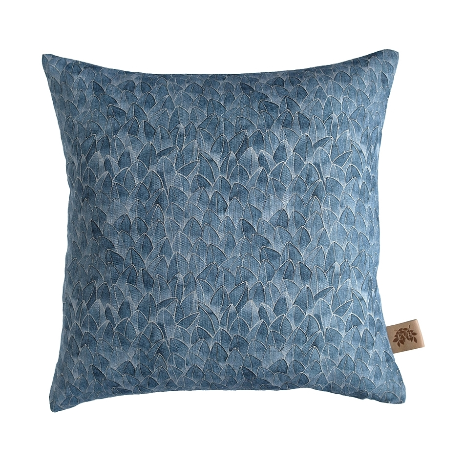 Field kuddfodral linne blå, Emma von Brömssen