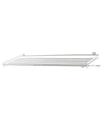 Skohylla Shoe Shelf L white, Maze