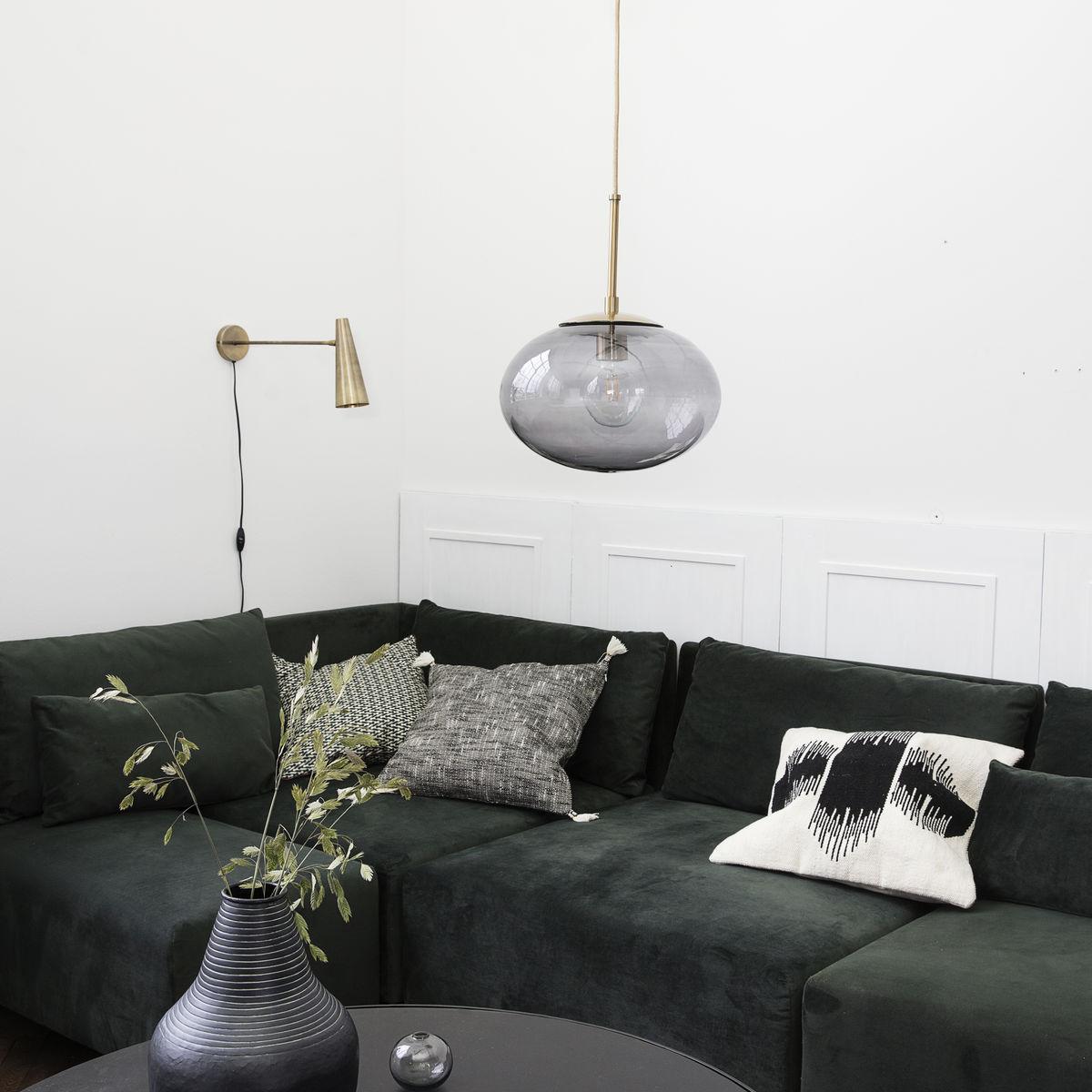 Lampa OPAL grå 30 cm, House Doctor