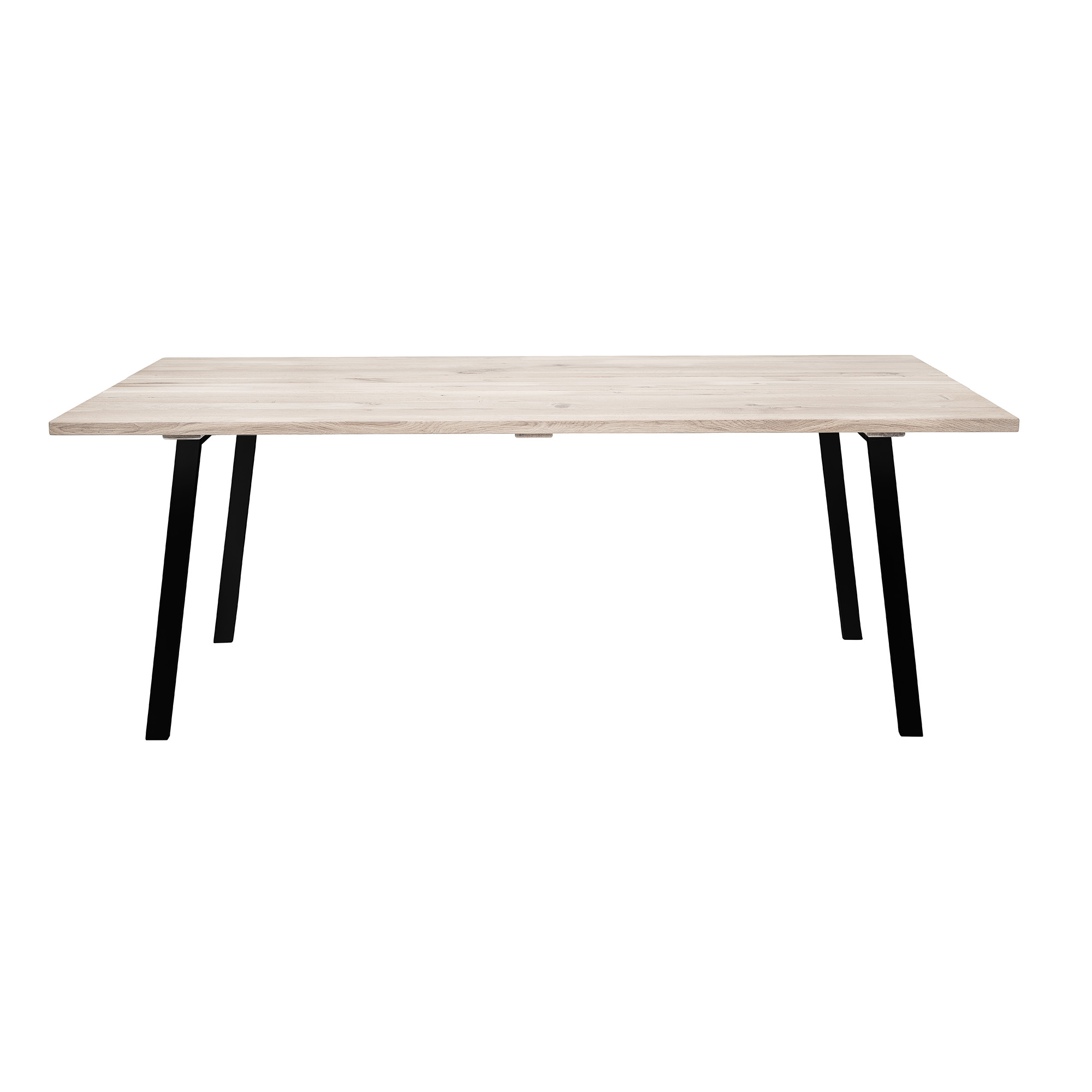 COZY matbord ek/ svart 200 cm, Bloomingville