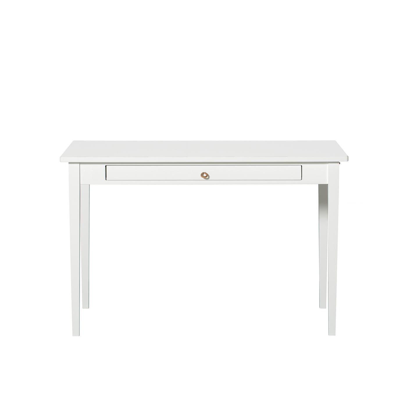 Litet bord med läderstroppar, Oliver Furniture