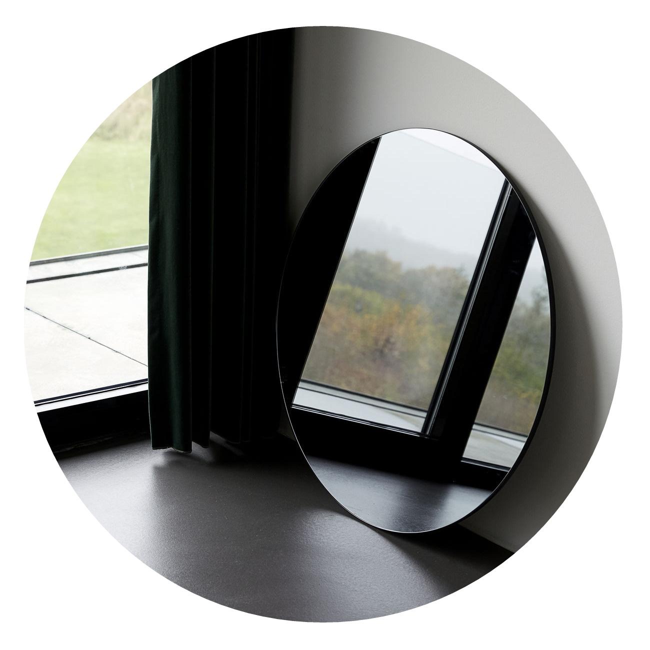 Spegel Ø 80cm grå WALLS MIRROR, House Doctor thumbnail