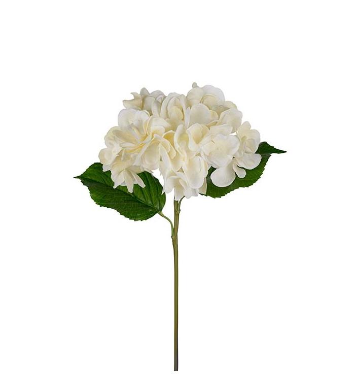 Konstväxt Hortensia 55 cm vit